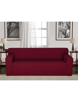 Rebrilliant Anti Slip Spandex Elastic Stretch T Cushion Sofa Slipcover & Reviews by Rebrilliant