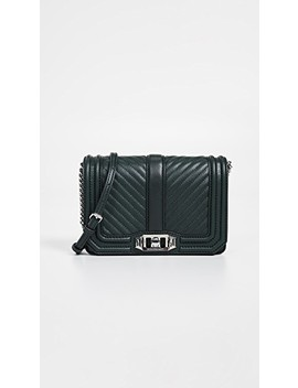 Chevron Quilted Small Love Crossbody Bag by Rebecca Minkoff