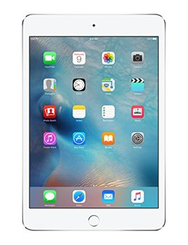 "Apple I Pad Mini 4 128 Gb With 7.9"" Retina Display, Wi Fi Only, Silver by Apple"