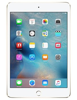 Apple I Pad Mini 4 128 Gb Wi Fi 7.9 Inch Tablet   Gold by Apple