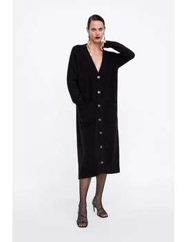Veste En Maille À Poches  Dress Timefemme Corner Shops by Zara