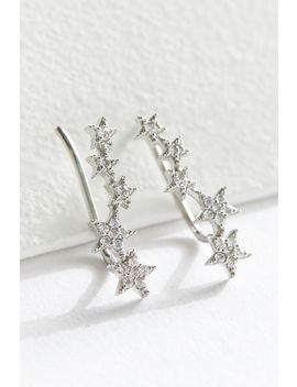 Delicate Star Climber Earring by Urban Outfitters