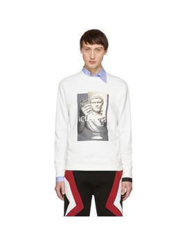 Off White 'i Claudius' Sweatshirt by Neil Barrett