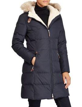 Quilted Faux Fur Jacket by Lauren Ralph Lauren