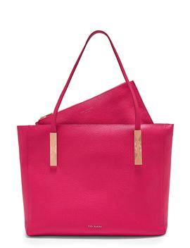 Soft Grain Large Zip Tote by Ted Baker London