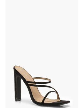 Wide Fit Flat Heel Mules by Boohoo