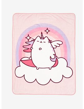 Pusheen Pegasus Throw Blanket by Hot Topic