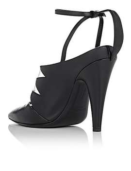 Kai Leather Ankle Strap Pumps by Calvin Klein 205 W39 Nyc