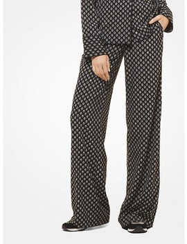 Studded Medallion Pajama Pants by Michael Michael Kors