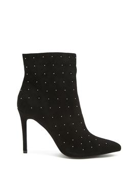 Studded Stiletto Booties by Forever 21
