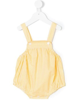 Checked Romper by Siola