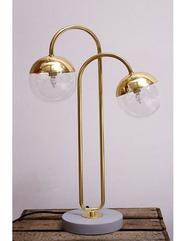 Double Orb Table Light by Urban Outfitters