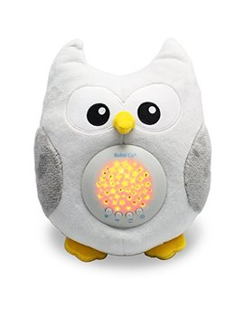 Bubzi Co White Noise Sound Machine & Sleep Aid Night Light. New Baby Gift, Woodland Owl Decor... by Bubzi Co