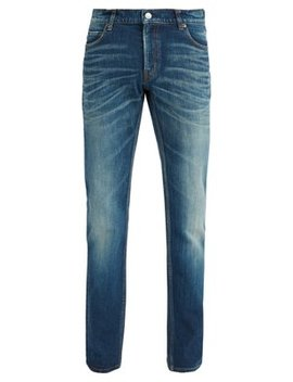 Slim Fit Faded Wash Jeans by Balenciaga