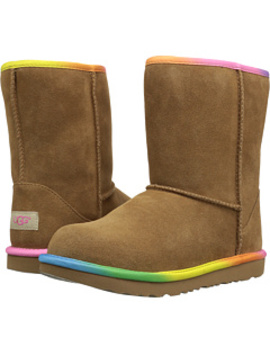 Classic Short Ii Rainbow (Little Kid/Big Kid) by Ugg Kids