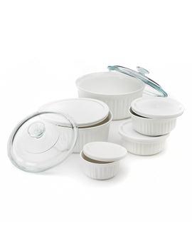 Corning Ware 11 Pc. French White Serveware Set by Kohl's