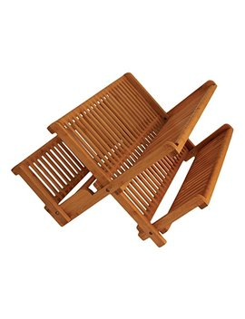 Totally Bamboo 20 6701 Dish Drying Rack, Brown by Totally Bamboo