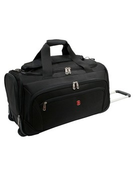 "Swiss Gear Zurich 22"" Wheeled Duffel Bag   Black by Shop This Collection"