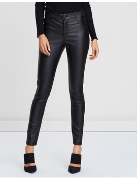 Coated Frankie Pants by Dorothy Perkins