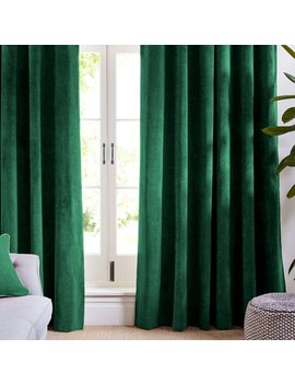 Forest Green Velvet Curtains And Drapes  Greenish  Curtains Panels Natural Window Treatment French Door Curtains Solid by Etsy