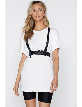 Safety First Faux Leather Harness by Nasty Gal