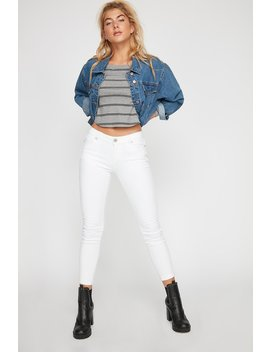 Basic Roll Up Skinny Jegging by Urban Planet