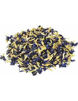 Three Squirrels 100 Percents Natural Dried Pure Whole Butterfly Pea Flower Tea, Perfect Blue Purple Coloring For Food And Beverage, 2 Oz(Pack Of 2) by Three Squirrels
