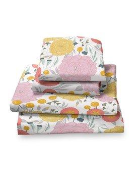 Harriet Bee Detrick Floral Sheet Set & Reviews by Harriet Bee