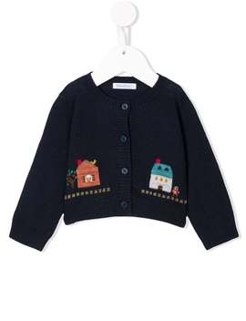 House Patch Cardigan by Familiar