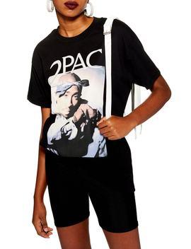 Tupac Boyfriend Tee by Topshop