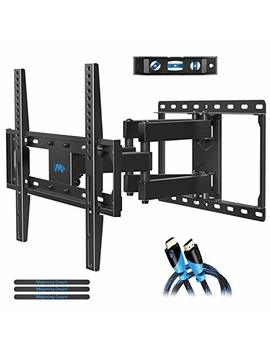 Mounting Dream Tv Wall Mount Tv Bracket For Most 32 55 Inch Flat Screen Tv/ Mount Bracket, Full Motion Tv Wall Mount With Swivel Articulating Dual Arms, Max Vesa 400x400mm, 99 Lbs Loading Md2380 by Mounting Dream
