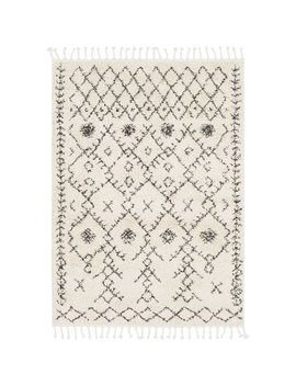 Langley Street Roger Modern Bohemian Ivory/Charcoal Area Rug & Reviews by Langley Street