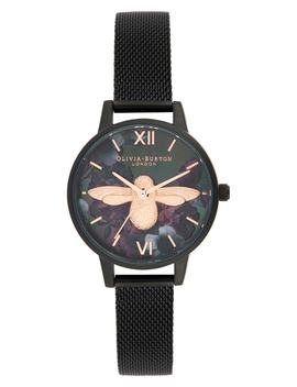 After Dark Mesh Strap Watch, 30mm by Olivia Burton