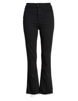 The Hustler High Waist Ankle Fray Jeans by Mother