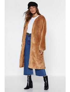 Teddy Girl Faux Fur Coat by Nasty Gal