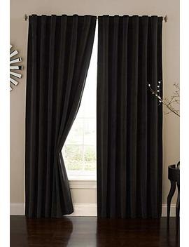 Absolute Zero 11718050 X095 Bk Velvet Blackout Home Theater 50 Inch By 95 Inch Single Curtain Panel, Black by Absolute Zero