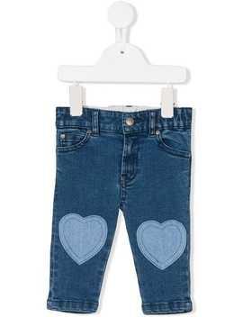 Heart Patch Jeans by Stella Mccartney Kids