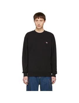 Ssense Exclusive Black Fox Sweatshirt by Maison KitsunÉ