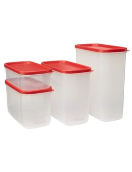 Rubbermaid 8 Piece Modular Food Canister Set by Rubbermaid