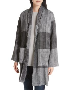 Long Cotton Jacket by Eileen Fisher