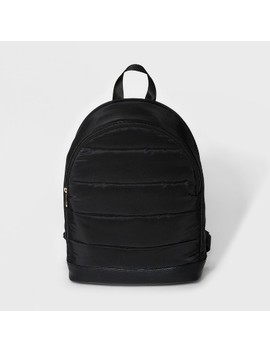 Quilted Puffer Dome Backpack   A New Day™ Black by A New Day