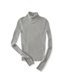 Aeropostale Juniors Ribbed Turtleneck Knit Sweater by P.S.09 From Aeropostale