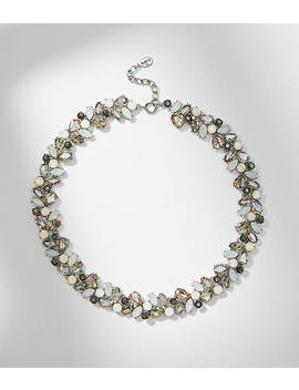 Crystal Vine Necklace by Loft