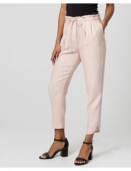 Lyocell Paper Bag Pant by Le Chateau