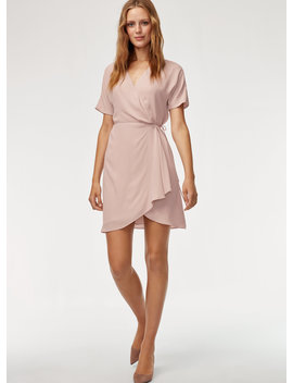Wallace Dress    Short, Flowy Wrap Dress by Babaton