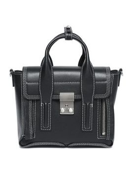 Embroidered Leather Shoulder Bag by 3.1 Phillip Lim