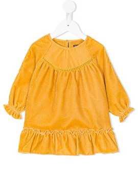 Elastic Trimmed Dress by Velveteen