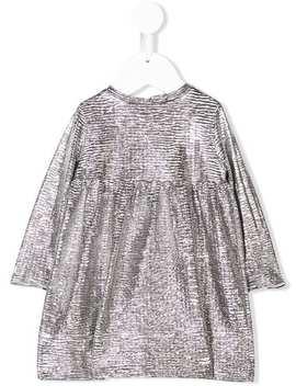 Metallic Longsleeved Dress by Douuod Kids