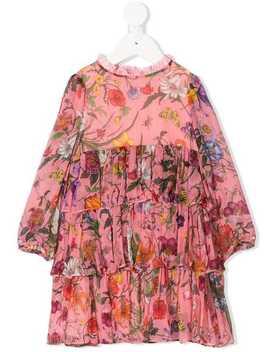 Baby Mini Flora Chiffon Dress by Gucci Kids