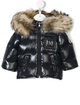 Padded Coat by Moncler Kids